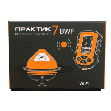 Эхолот Практик 7 BWF (Wi-Fi) Маяк+Блок