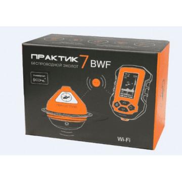 Эхолот ПРАКТИК 7 BWF Универсал (Wi-Fi) Маяк+Блок+Проводной датчик