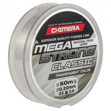 Леска CHIMERA MEGASTRONG Classic Transparent Color 50м 0.12мм
