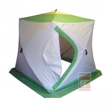 Палатка зимняя КУБ-2 трехслойная слойная (термостежка)