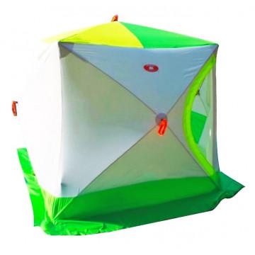 Палатка зимняя КУБ-3 трехслойная слойная (термостежка)