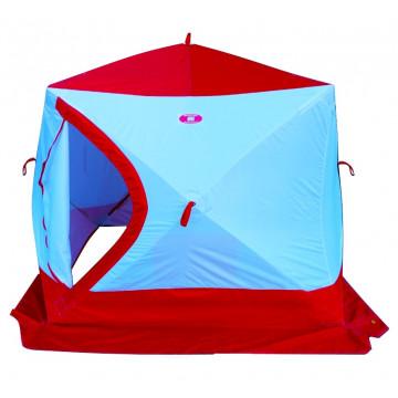 Палатка зимняя КУБ-4 трехслойная слойная (термостежка)