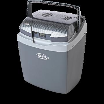 Автомобильный холодильник Ezetil E 3000 AES/LCD Carbon 12/24/220V  25 литров