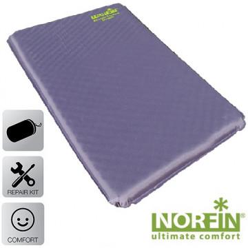 Коврик самонадувающийся Norfin ATLANTIC DOUBLE NF 5.0см