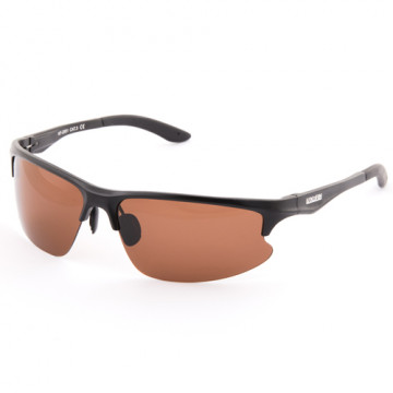 Очки поляризационные Norfin линзы коричневые оправа алюминий 01