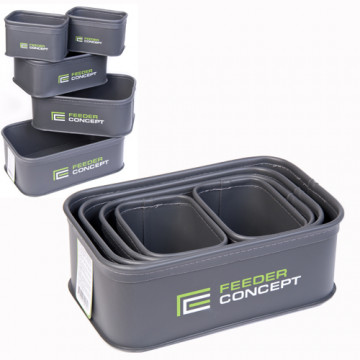 Емкости для прикормки и насадки Feeder Concept EVA 5шт. 02 набор