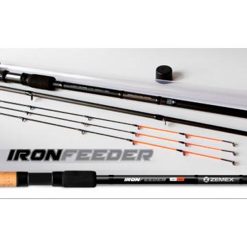 """Фидер Zemex Iron Flat Method Feeder 13"""" 140гр"""